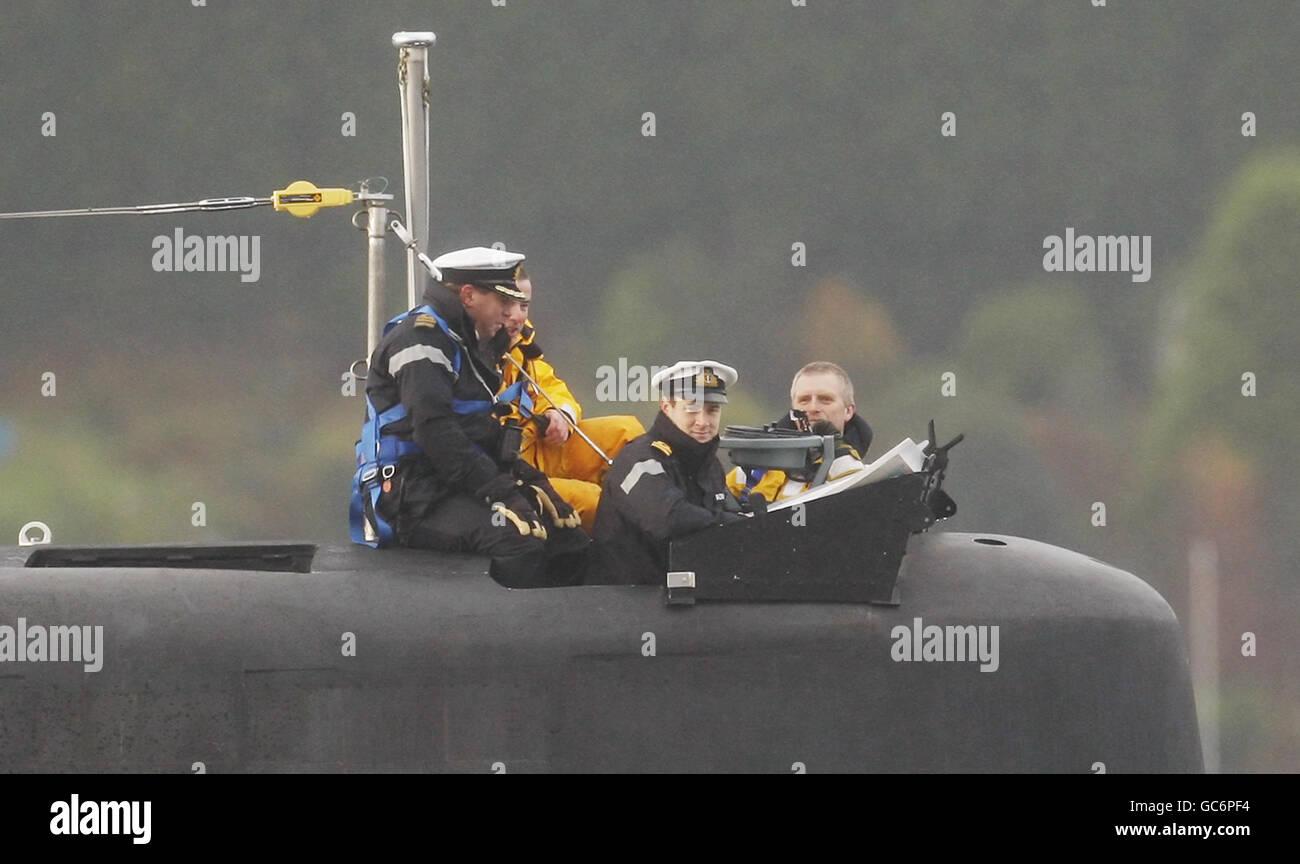 Submarine Astute - Stock Image