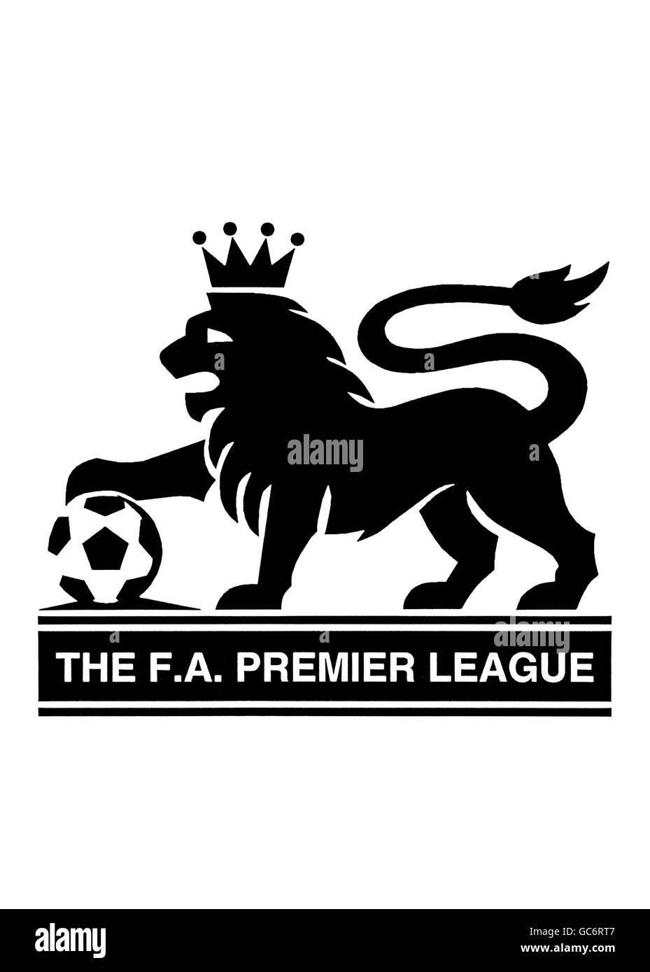 Soccer Fa Premier League Logo Stock Photo Alamy
