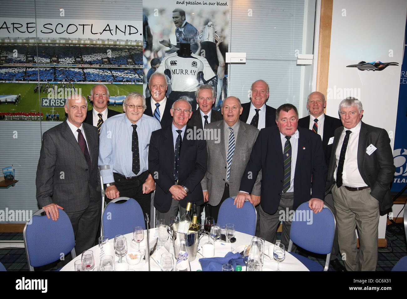 Rugby Union - Bank of Scotland Corporate Autumn Test - Scotland v Argentina - Murrayfield Stadium - Stock Image
