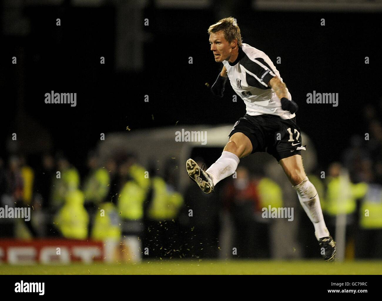 Soccer - UEFA Europa League - Group E - Fulham v CSKA Sofia - Craven Cottage - Stock Image