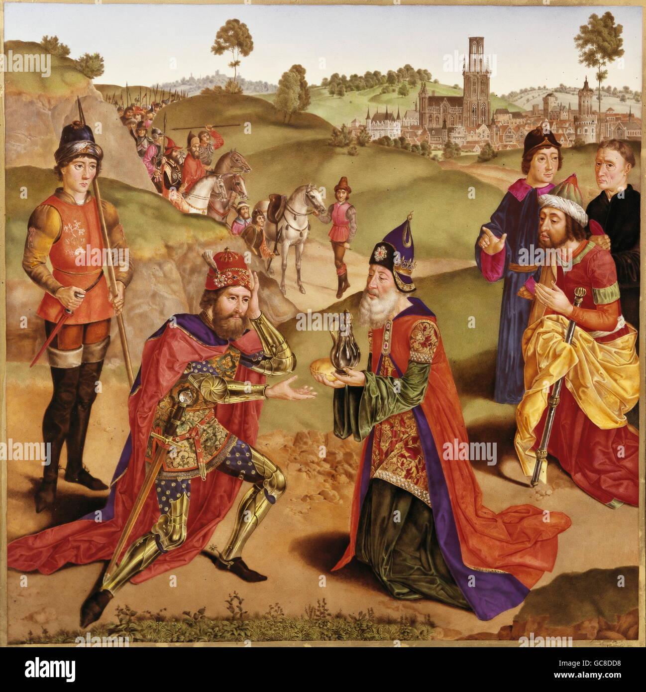 religion, biblical scenes, Melchizedek, King of Salem ...