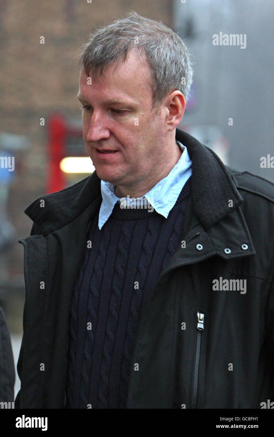 David Gray inquest - Stock Image