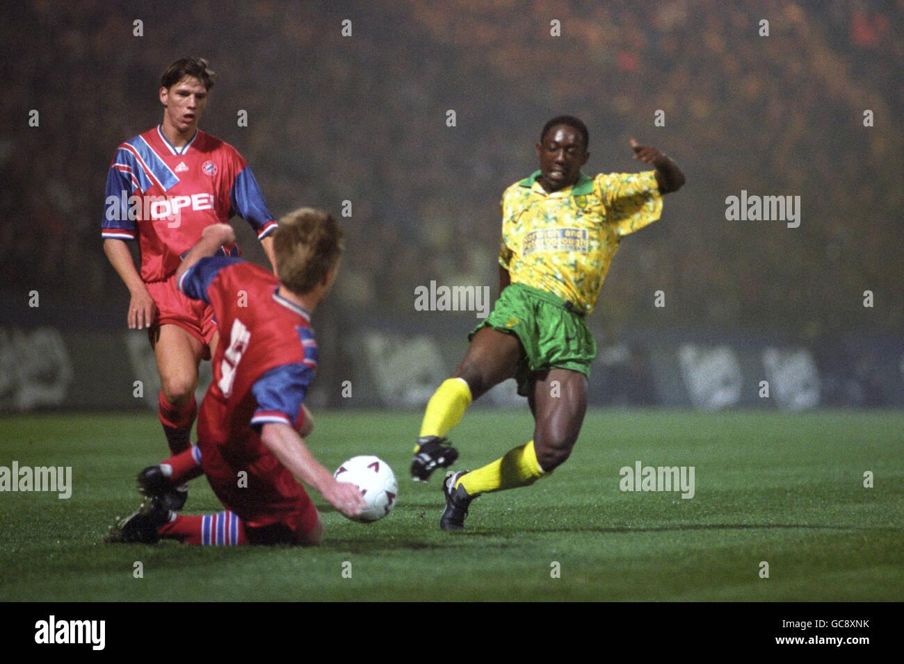 Thomas Helmer Bayern Munich And Ruel Fox Norwich City