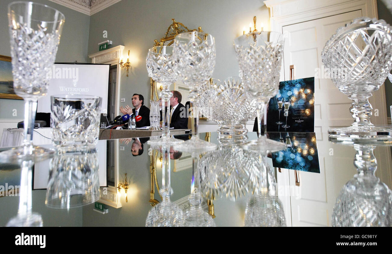New Waterford Crystal factory planned - Stock Image