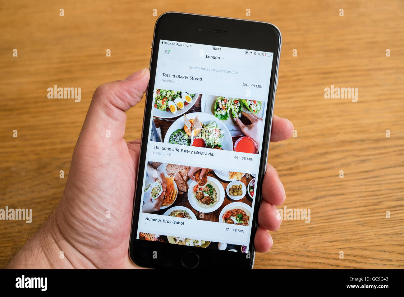 Meal Delivery Stock Photos & Meal Delivery Stock Images - Alamy