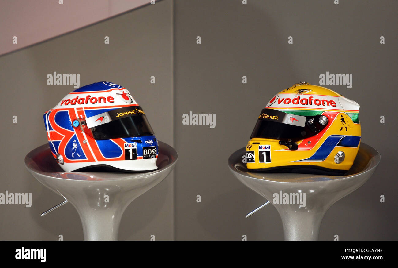 Motor Racing - McLaren Car Launch - Team Headquarters Stock Photo