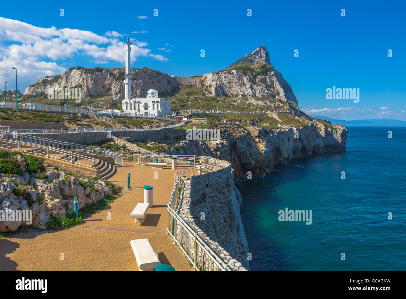 Europa Point Gibraltar - Stock Image