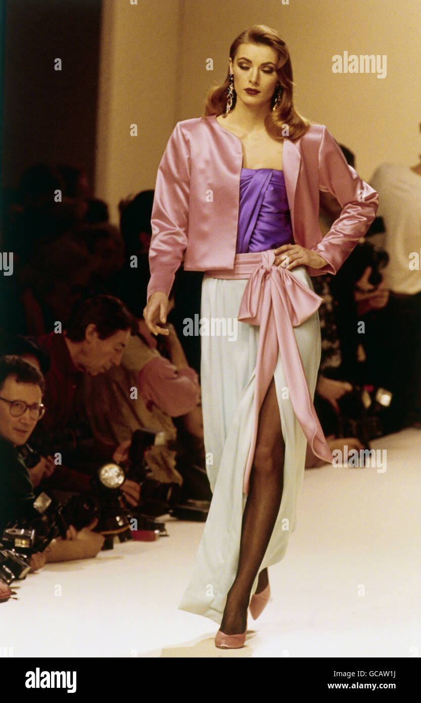 Ysl Catwalk High Resolution Stock Photography and Images
