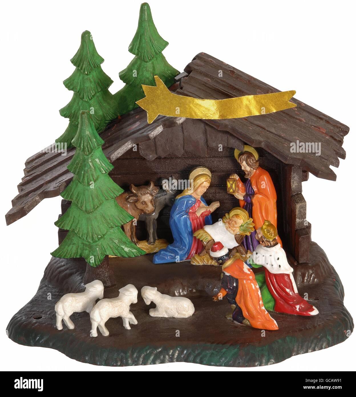 Nativity Scene Circa 1963
