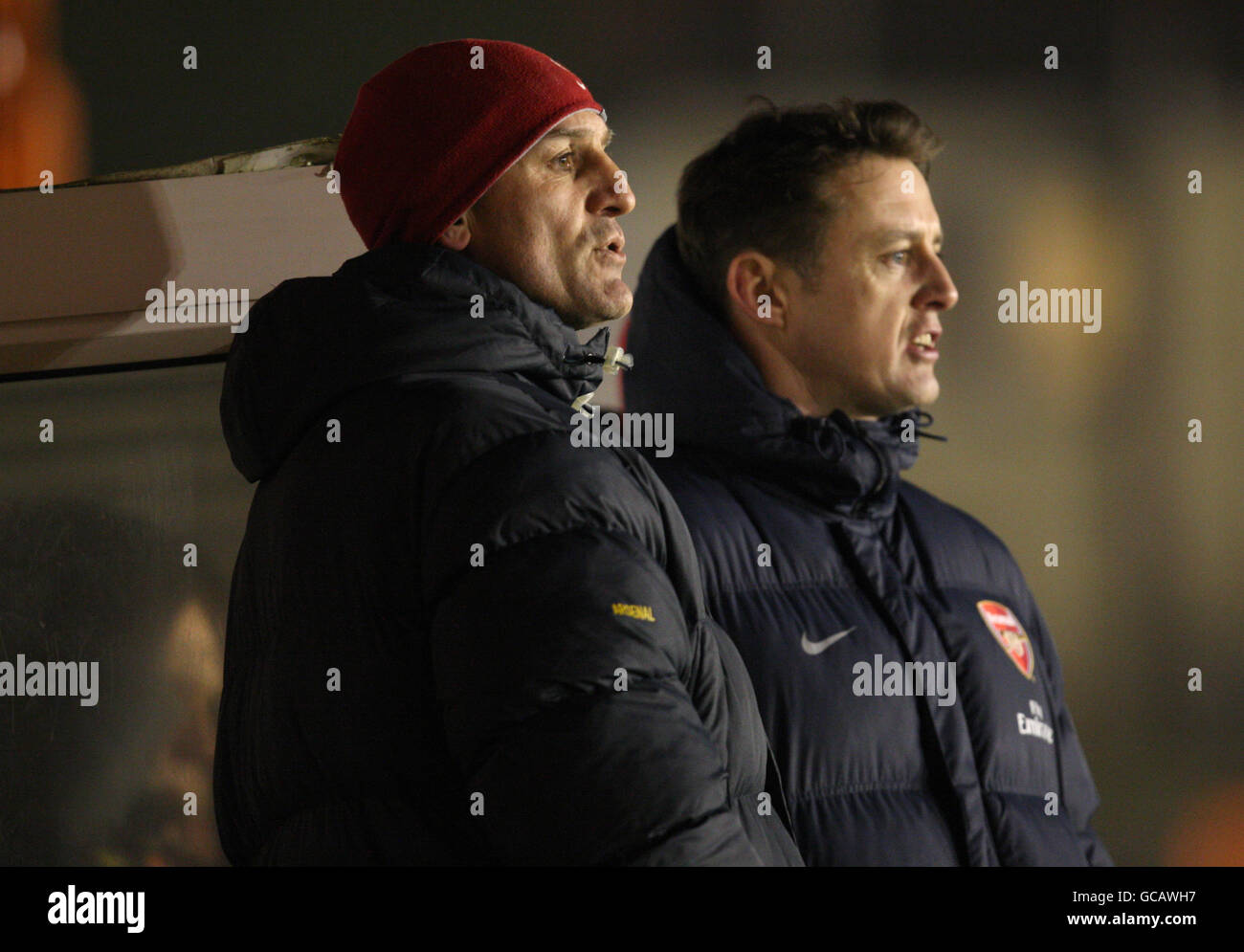 Soccer - FA Youth Cup - Fourth Round - Arsenal v Ipswich Town - Underhill Stadium Stock Photo