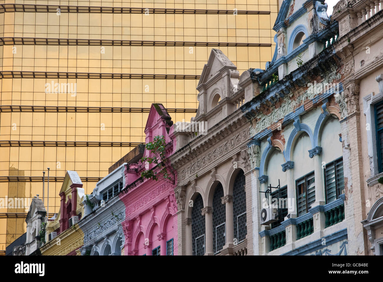 Old and new buildings in Kuala Lumpur - Stock Image
