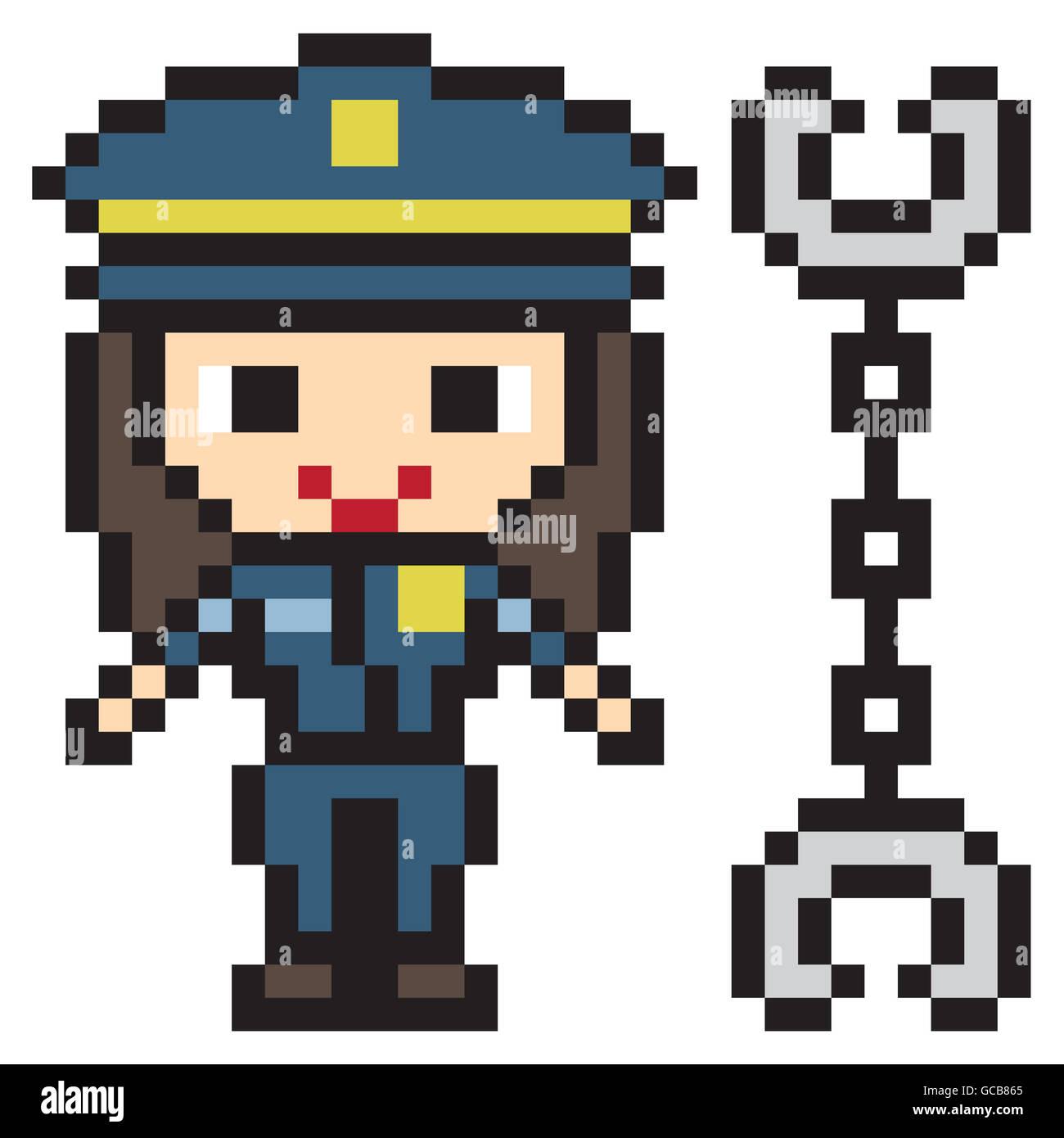 Female Police Officer Art Stock Photos Female Police
