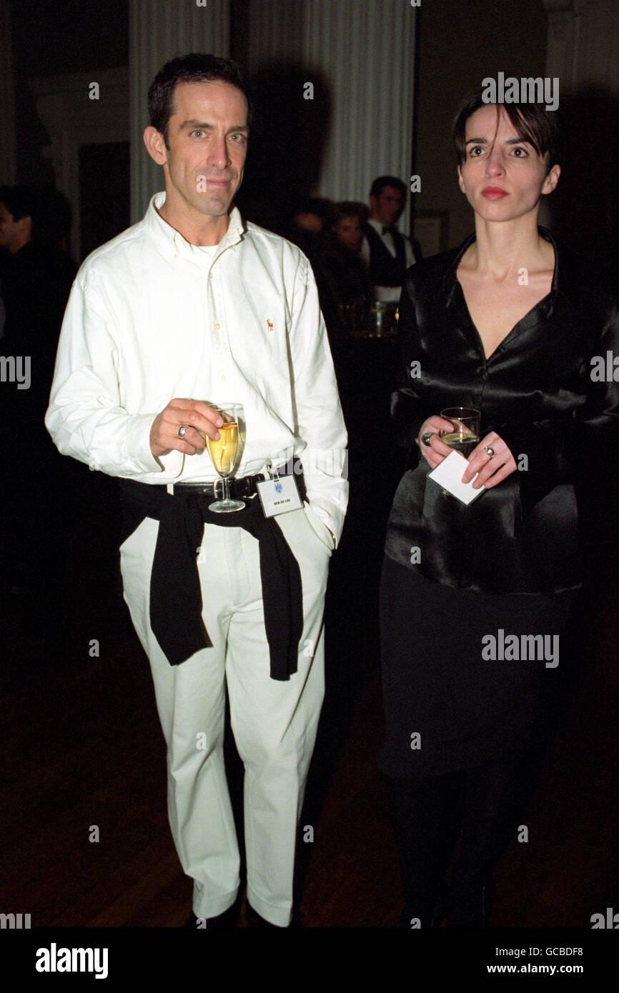 Fashion Designer Ben De Lisi Wit Stock Photo Alamy