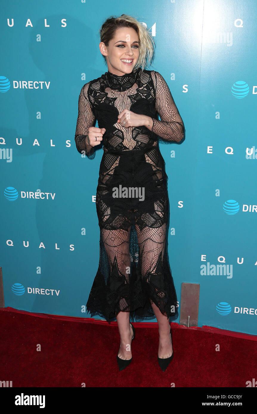 Hollywood, CA, USA. 7th July, 2016. 07 July 2016 - Hollywood, California - Kristen Stewart. ''Equals'' Los Angeles Stock Photo