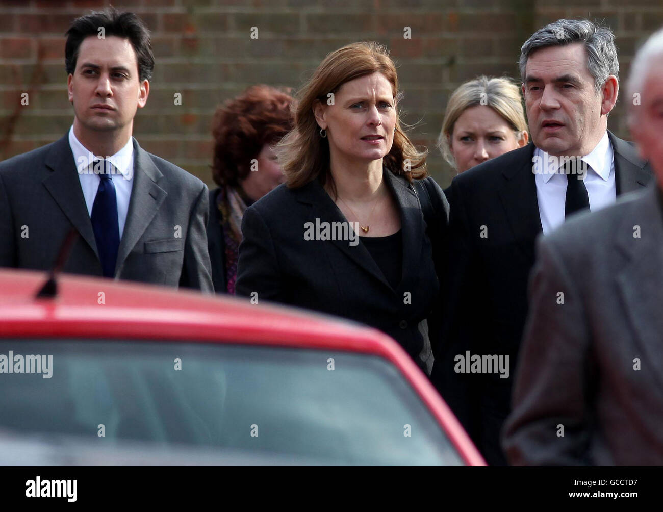 Michael Foot funeral Stock Photo