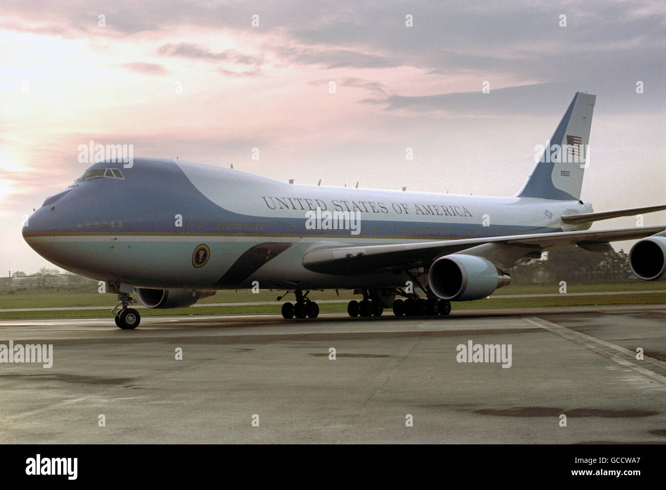 Air Force 1 Presidential Plane Stock Photo Alamy