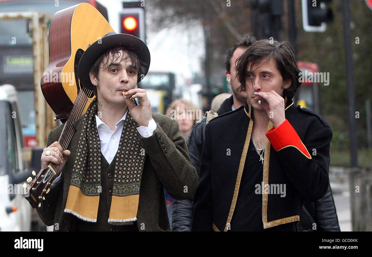 The Libertines announce they are to reform - London - Stock Image