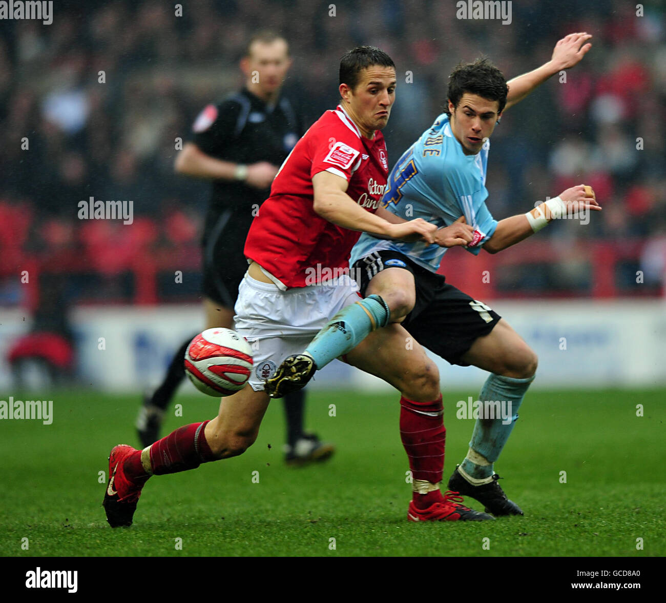 Soccer - Coca-Cola Football League Championship - Nottingham Forest v Peterborough United - City Ground Stock Photo