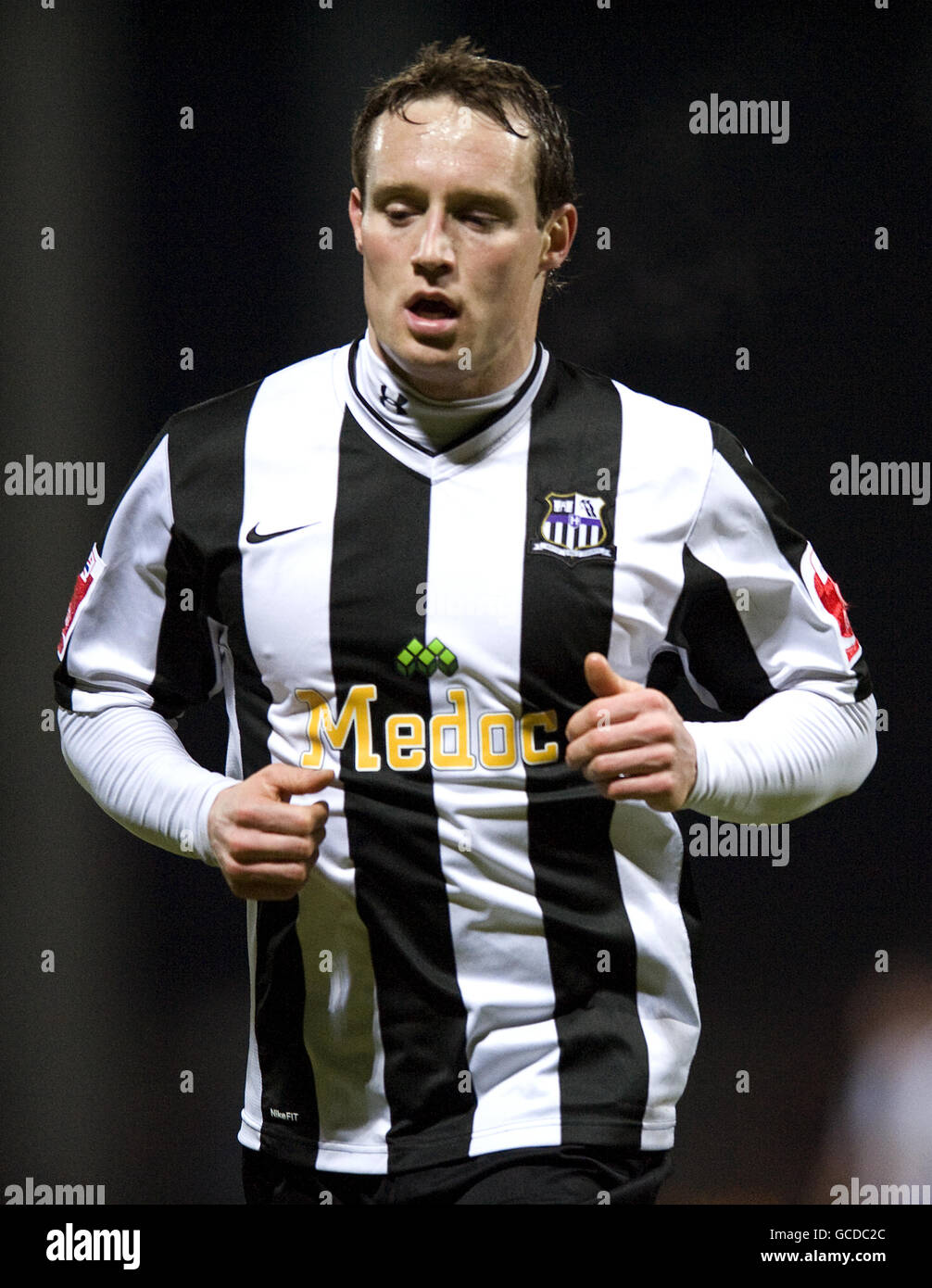 Soccer - Coca-Cola Football League Two - Notts County v Macclesfield Town - Meadow Lane - Stock Image