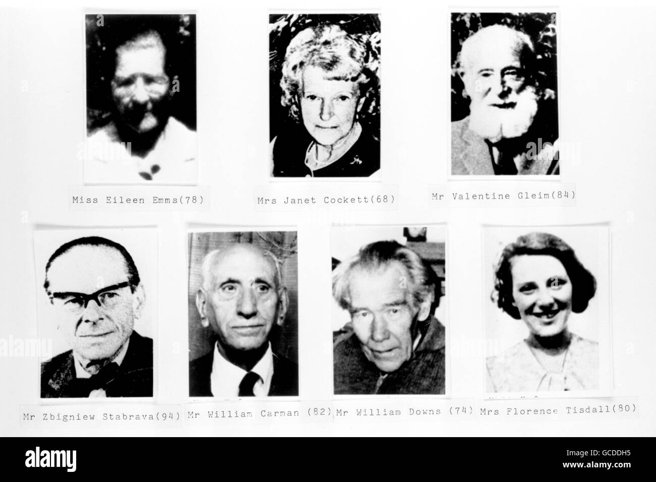 Victims Of Crime Black and White Stock Photos & Images - Alamy
