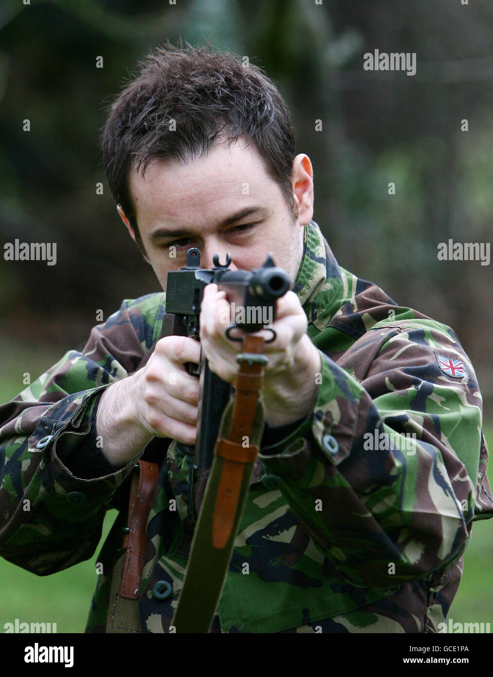 Age of Heroes training - Stock Image