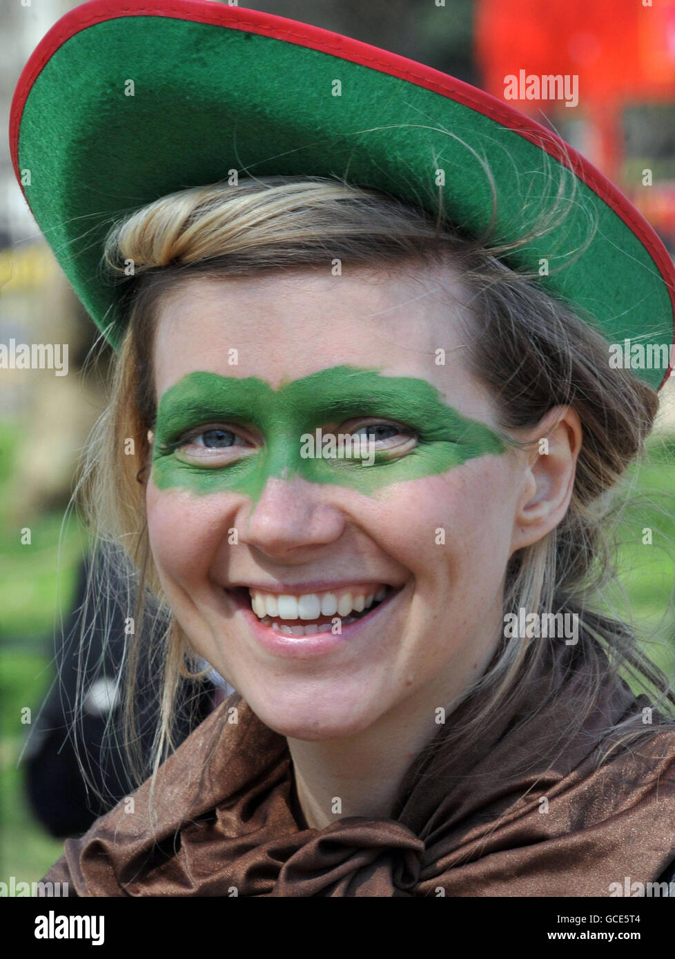 Robin Hood Tax Campaign protest - Stock Image