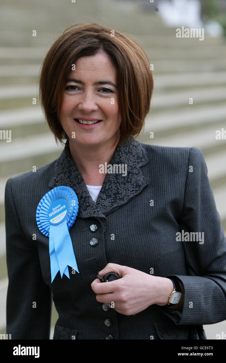 2010 General Election campaign Apr 13th - Stock Image