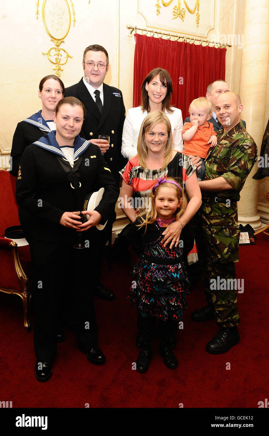 Samantha Cameron becomes charity patron - Stock Image
