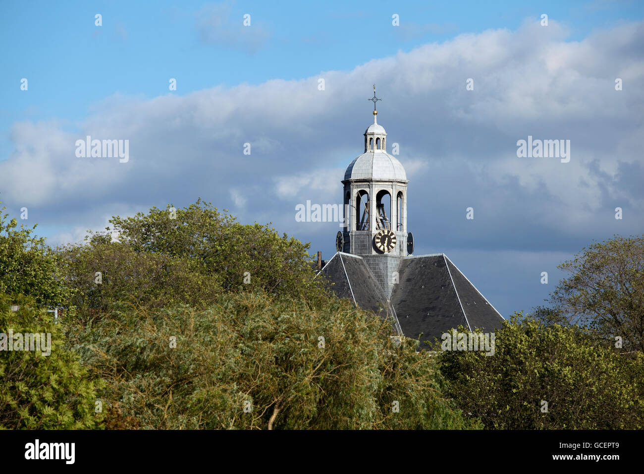 "Oosterkerk church, Dutch for ""eastern church"", today used as an exhibition space, Amsterdam, Holland region, Netherlands, Stock Photo"