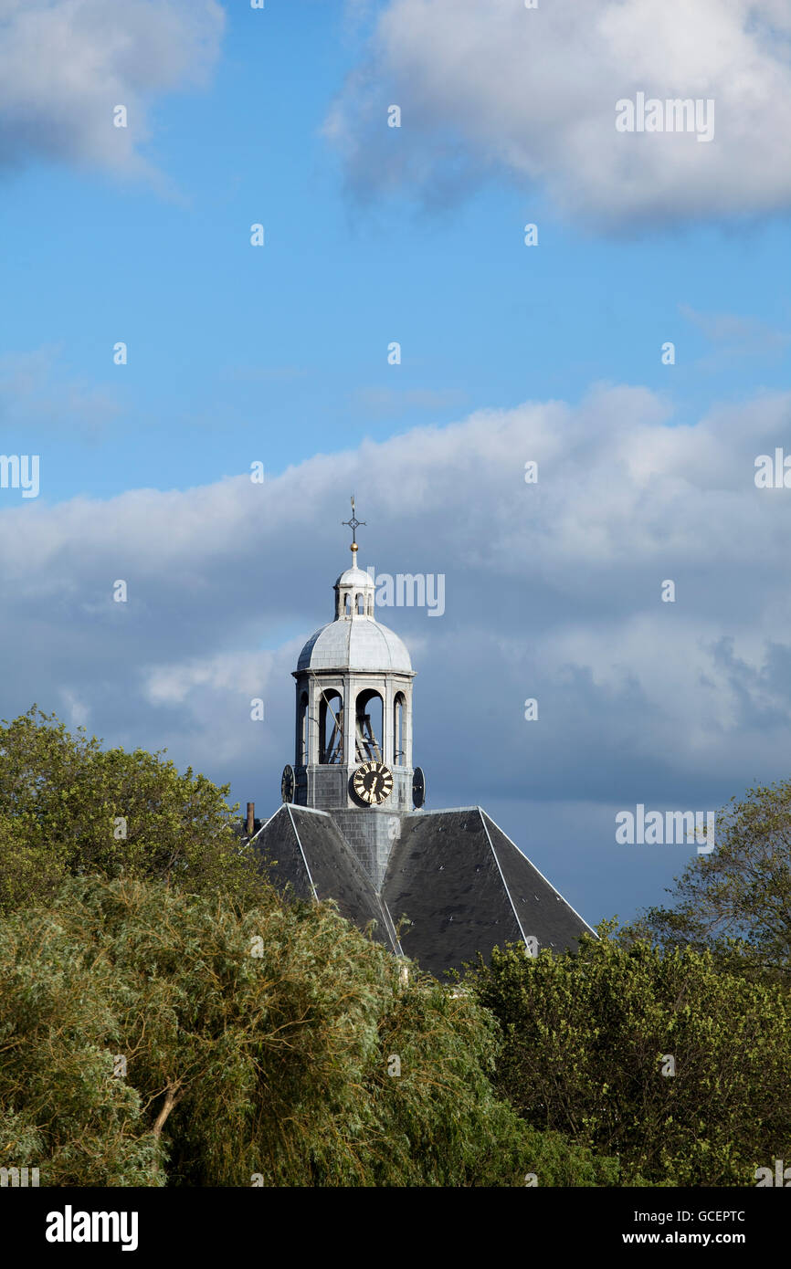 Oosterkerk church, Dutch for 'eastern church', today used as an exhibition space, Amsterdam, Holland region, - Stock Image