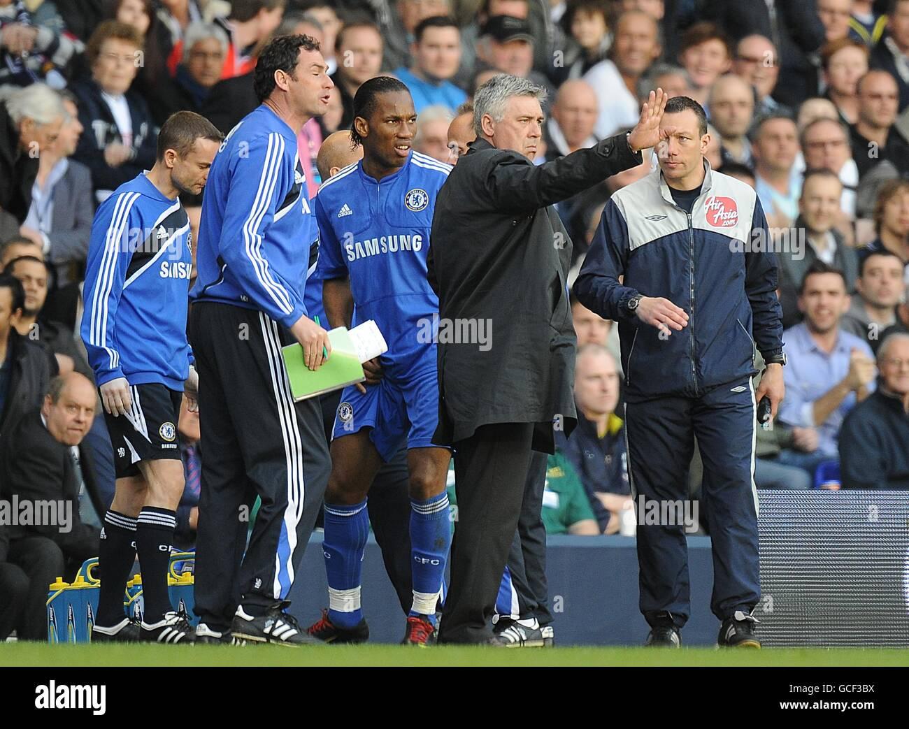 Soccer - Barclays Premier League - Tottenham Hotspur v Chelsea - White Hart Lane - Stock Image
