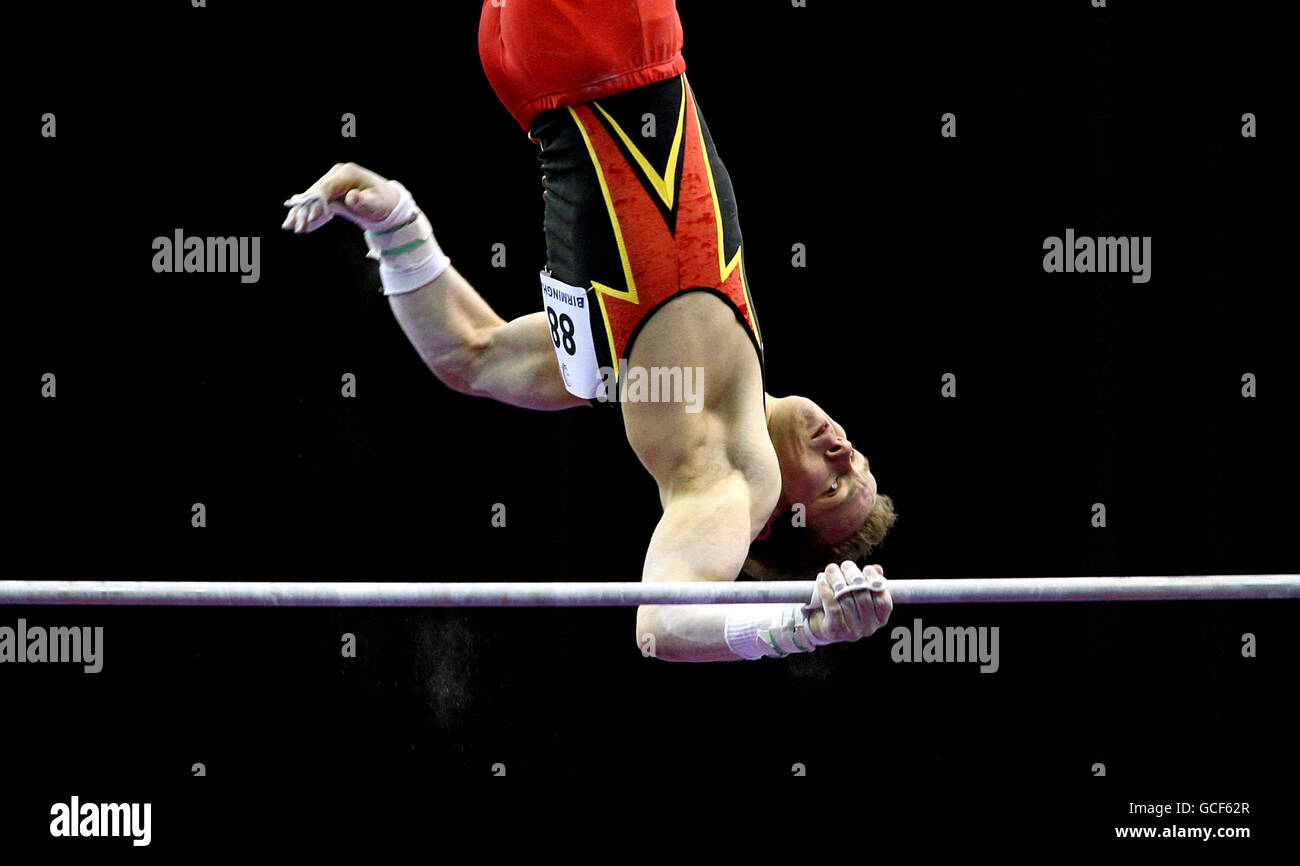 Gymnastics - Mens European Championships 2010 - Day Two - National Indoor Arena - Stock Image