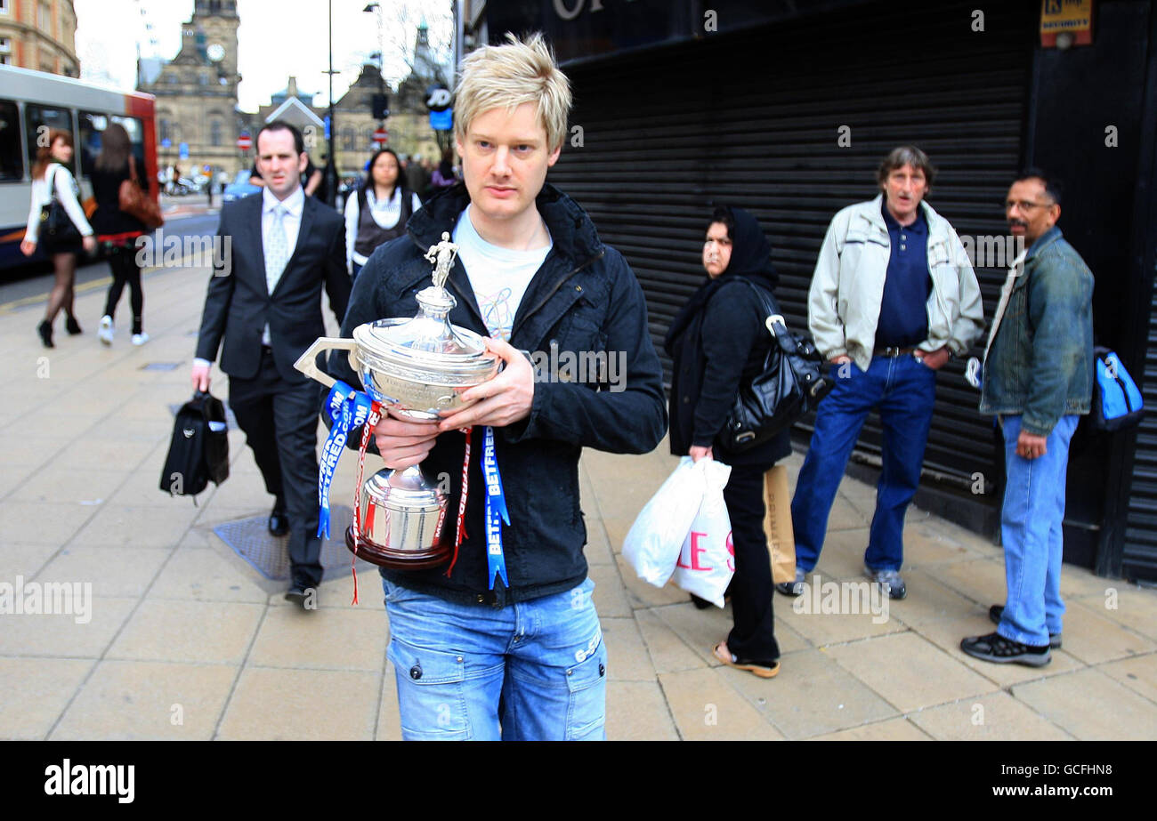 Snooker - Neil Robertson Photocall - Murcure Hotel Stock Photo