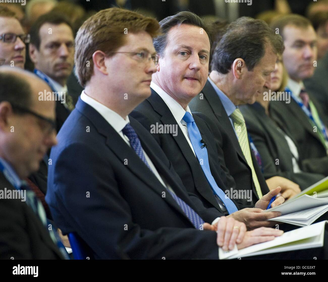 Launch of Coalition Agreement Stock Photo