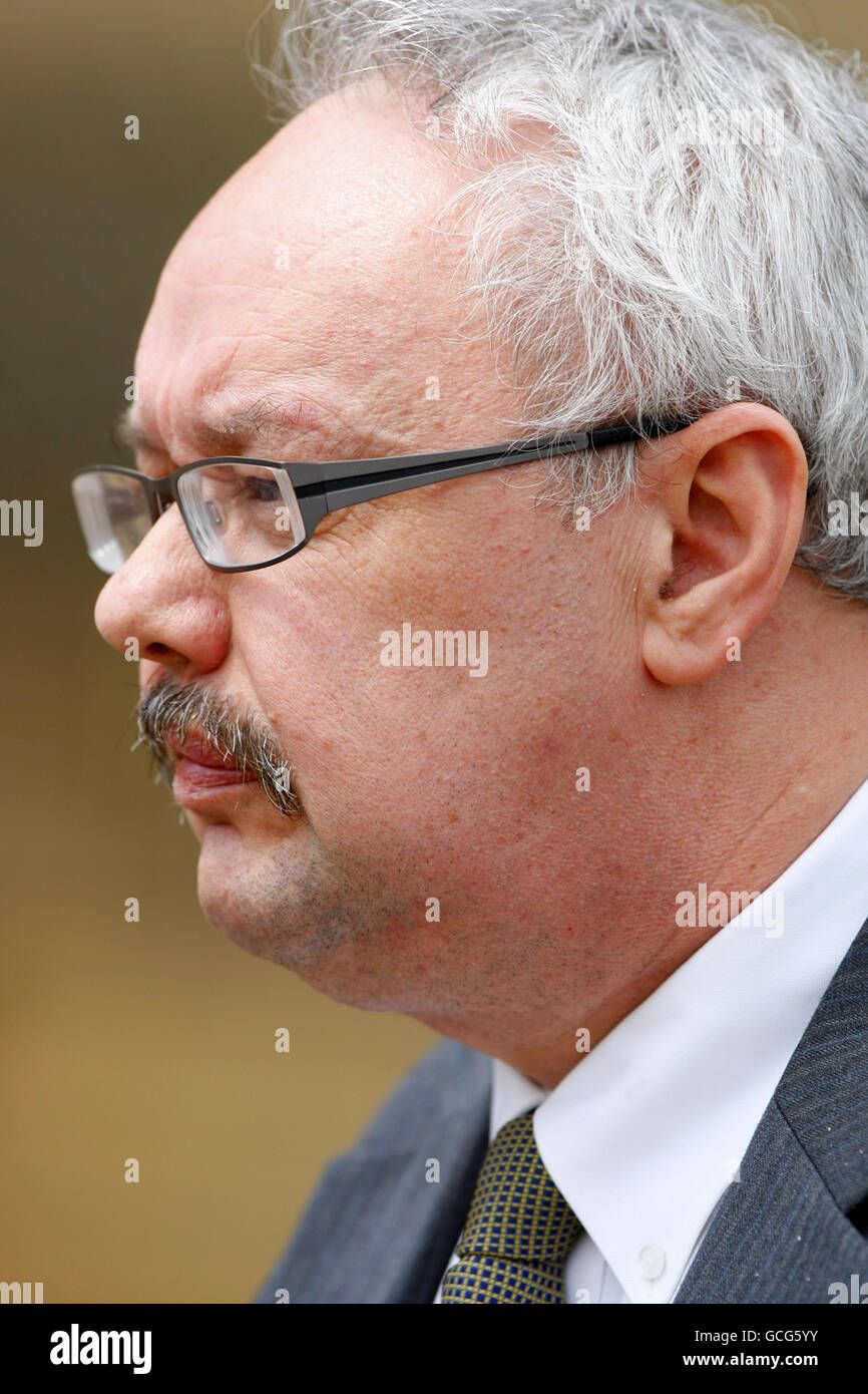 Guy Simpson trial - Stock Image
