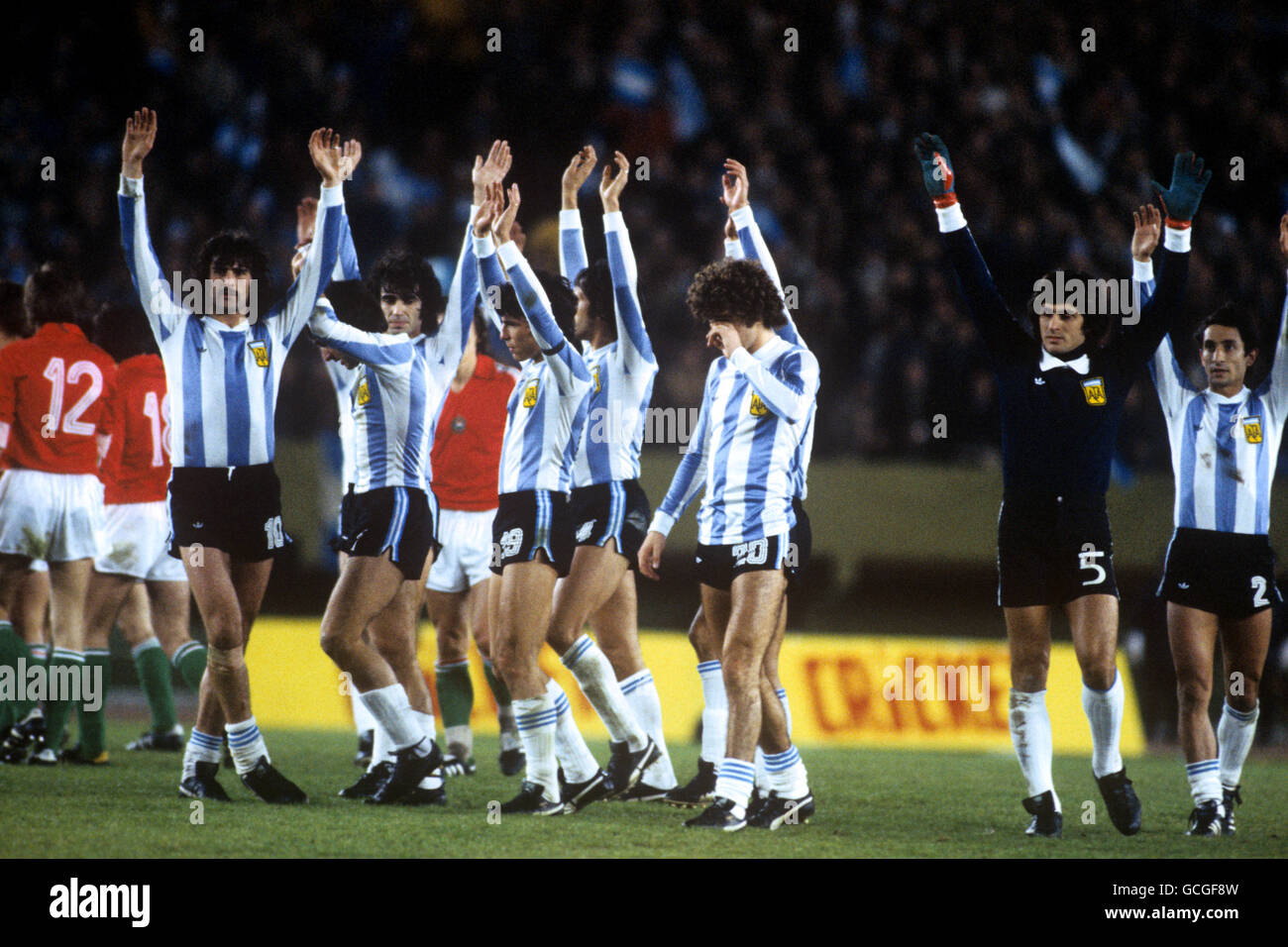 Soccer - World Cup Argentina 1978 - Group One - Argentina ...
