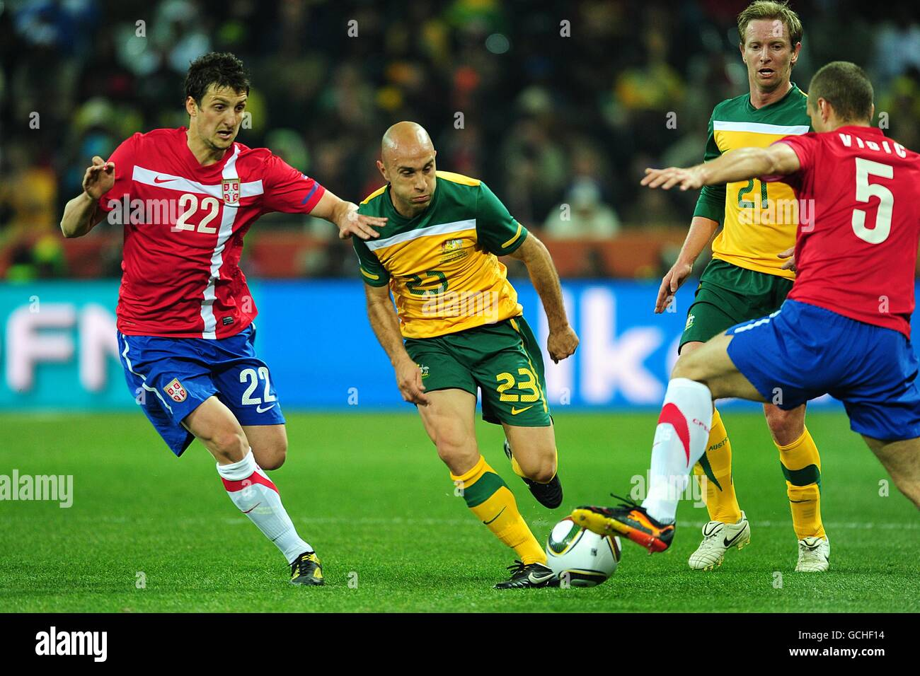 Soccer - 2010 FIFA World Cup South Africa - Group D - Australia v Serbia - ececf6ef58870