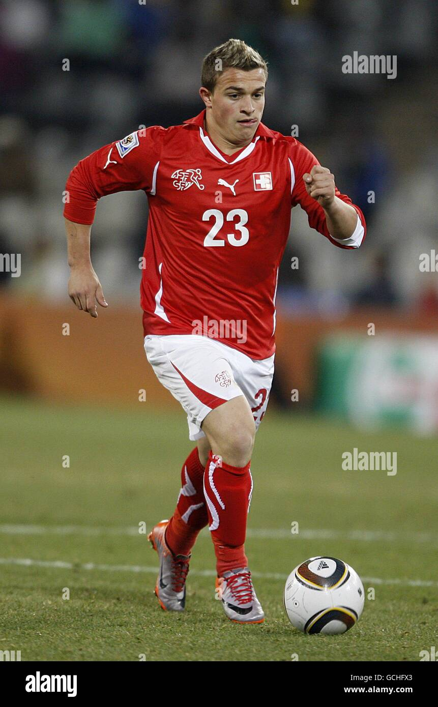 Soccer 2010 Fifa World Cup South Africa Group H Switzerland V Stock Photo Alamy