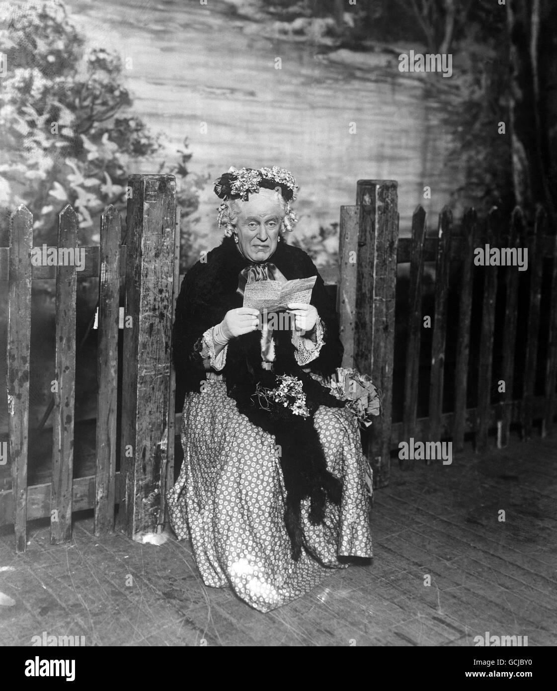 Entertainment - Pantomime - London - Stock Image