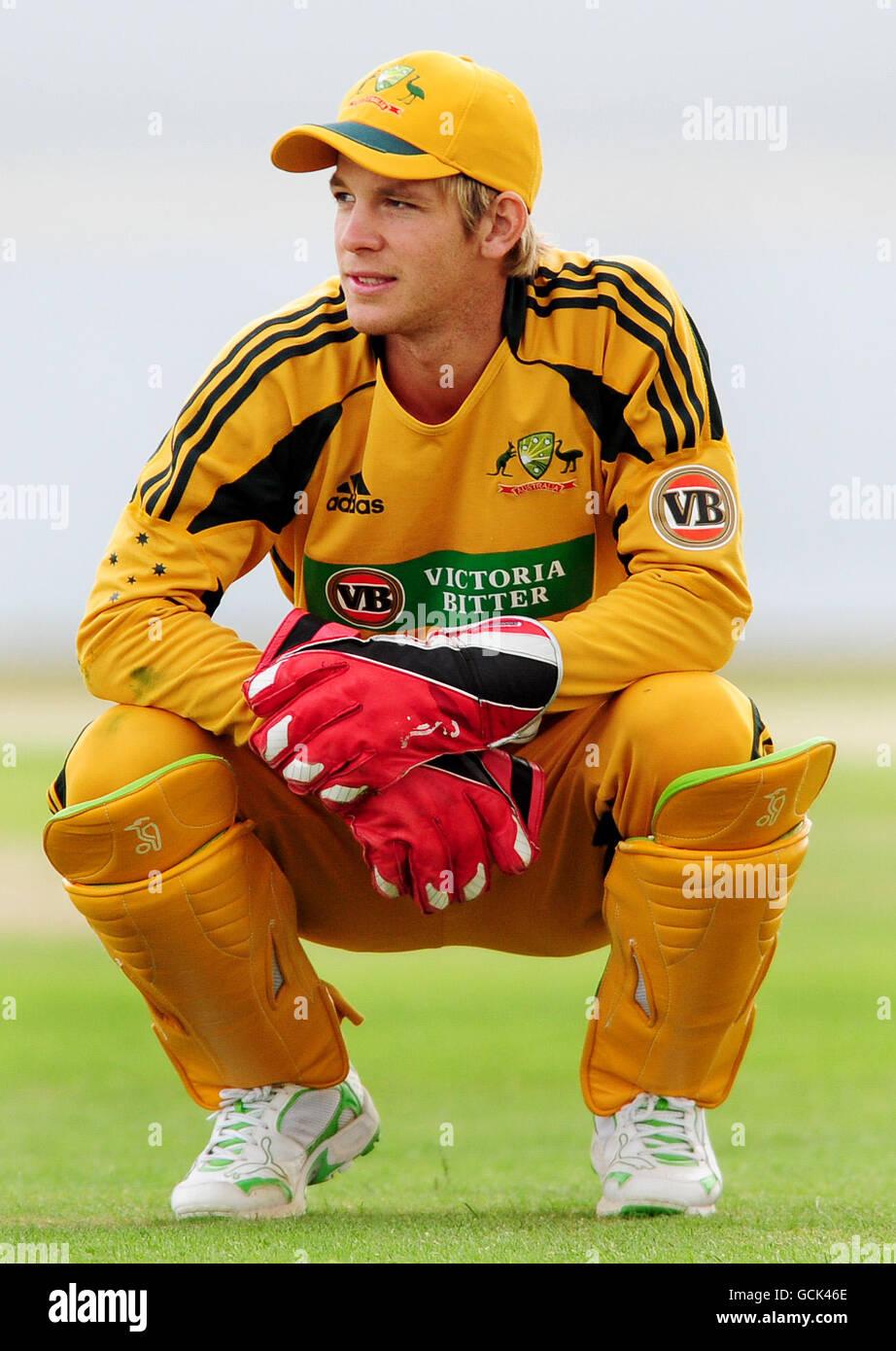 Australia Wicketkeeper Tim Paine During The First Twenty20 Stock Photo Alamy