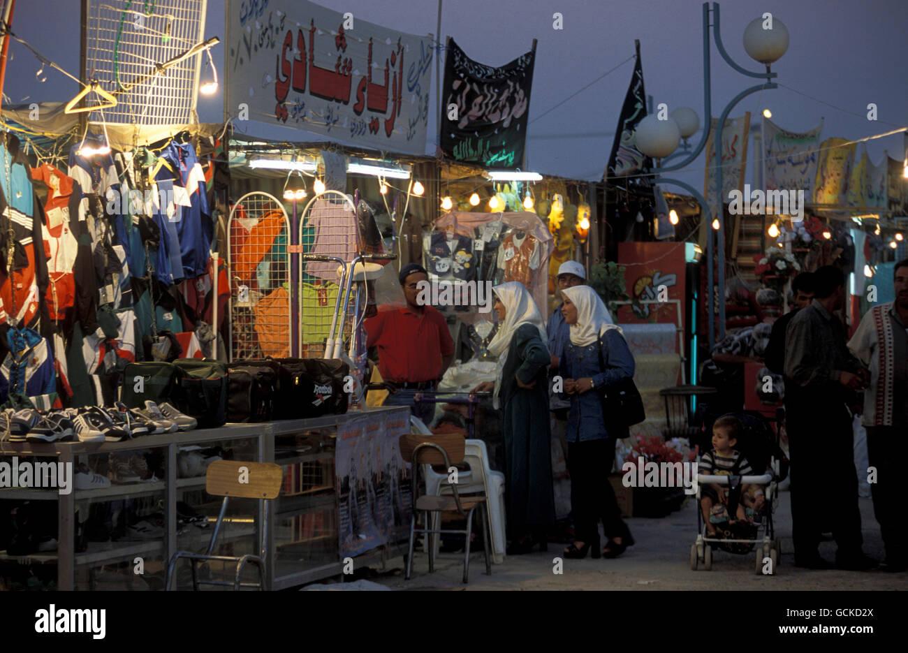 Der Markt in Deir ez Zur an der Grenze zu Irak im Osten von Syrien. - Stock Image