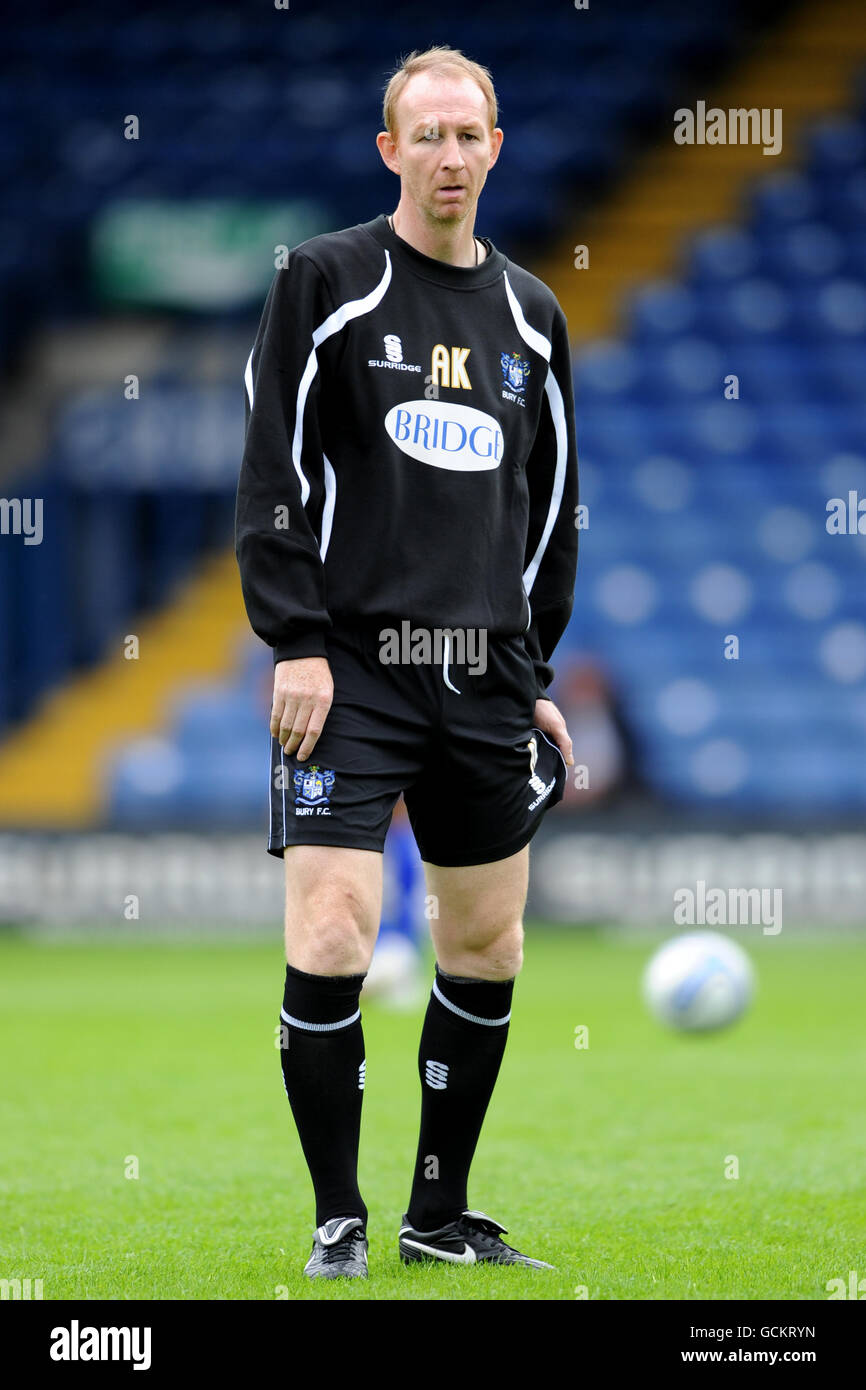 Soccer - npower Football League Two - Bury v Port Vale - Gigg Lane - Stock Image