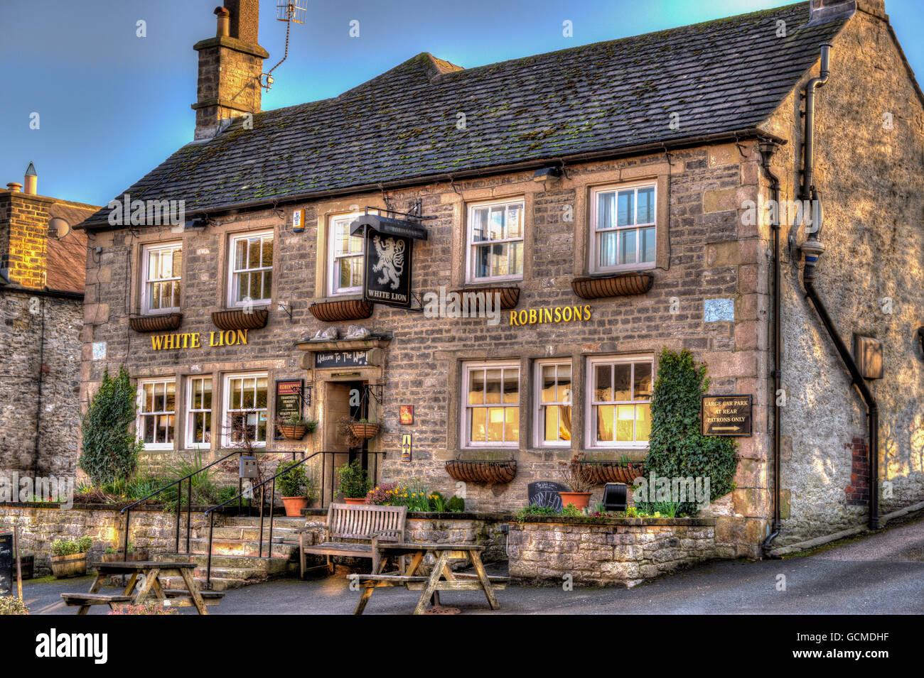 English Pub - Stock Image