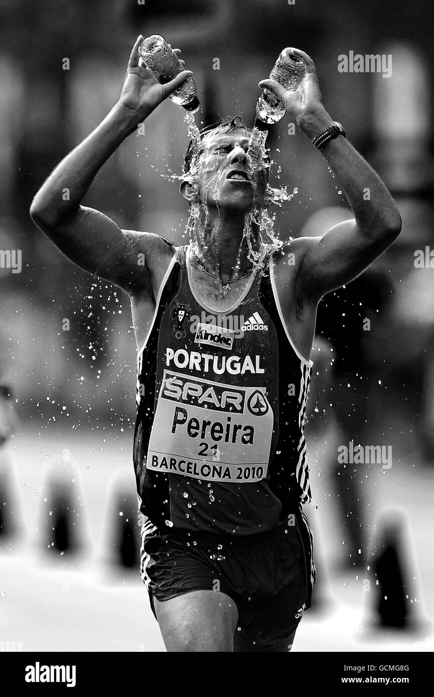 Athletics - IAAF European Championships 2010 - Day Four - Olympic Stadium - Stock Image