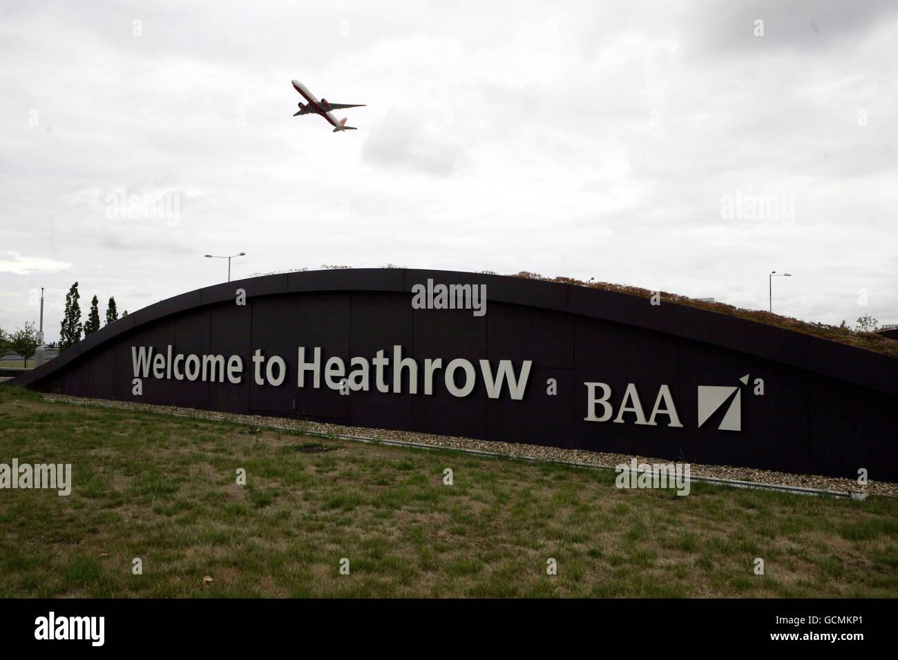 BAA airports - Stock Image