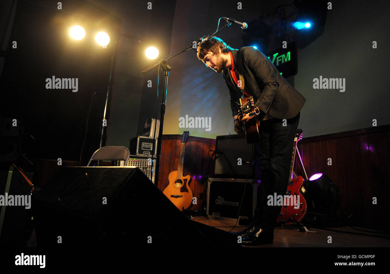Liam Fray Gig - Salford Stock Photo