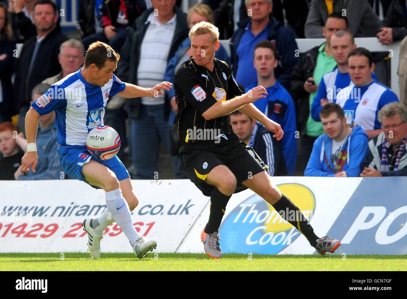 Soccer - npower Football League One - Hartlepool United v Sheffield Wednesday - Victoria Park - Stock Image