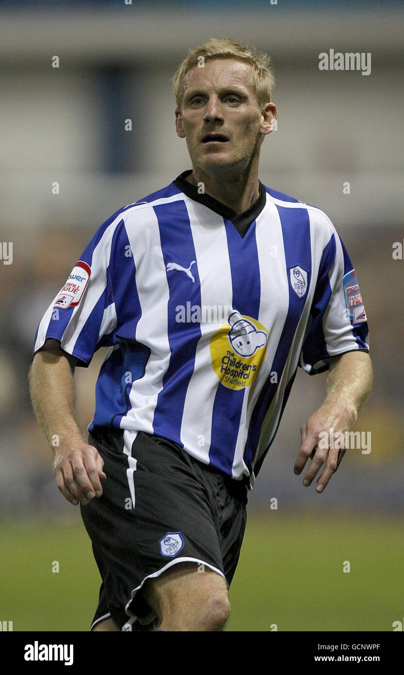 Soccer - Johnstone's Paint Trophy - Northern Section - First Round - Sheffield Wednesday v Notts County - Hillsborough - Stock Image