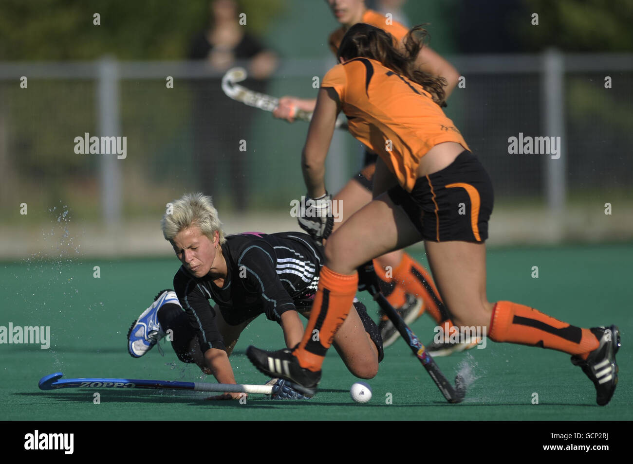Hockey - English Premier Division - Slough v Leicester - Slough Hockey Club - Stock Image