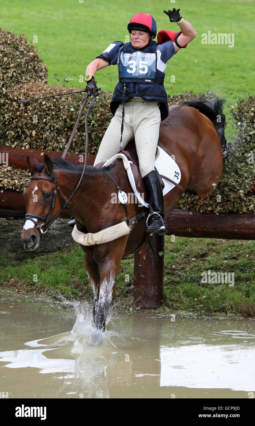 Equestrian - Land Rover Burghley Horse Trials - Day Three - Burghley - Stock Image
